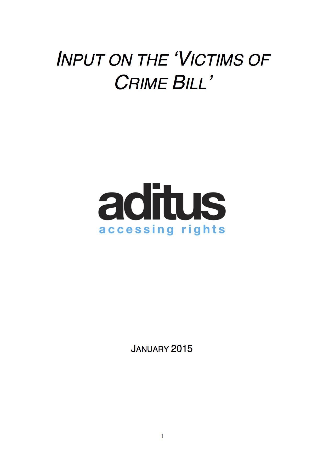 aditusinputvictimofcrime_cover