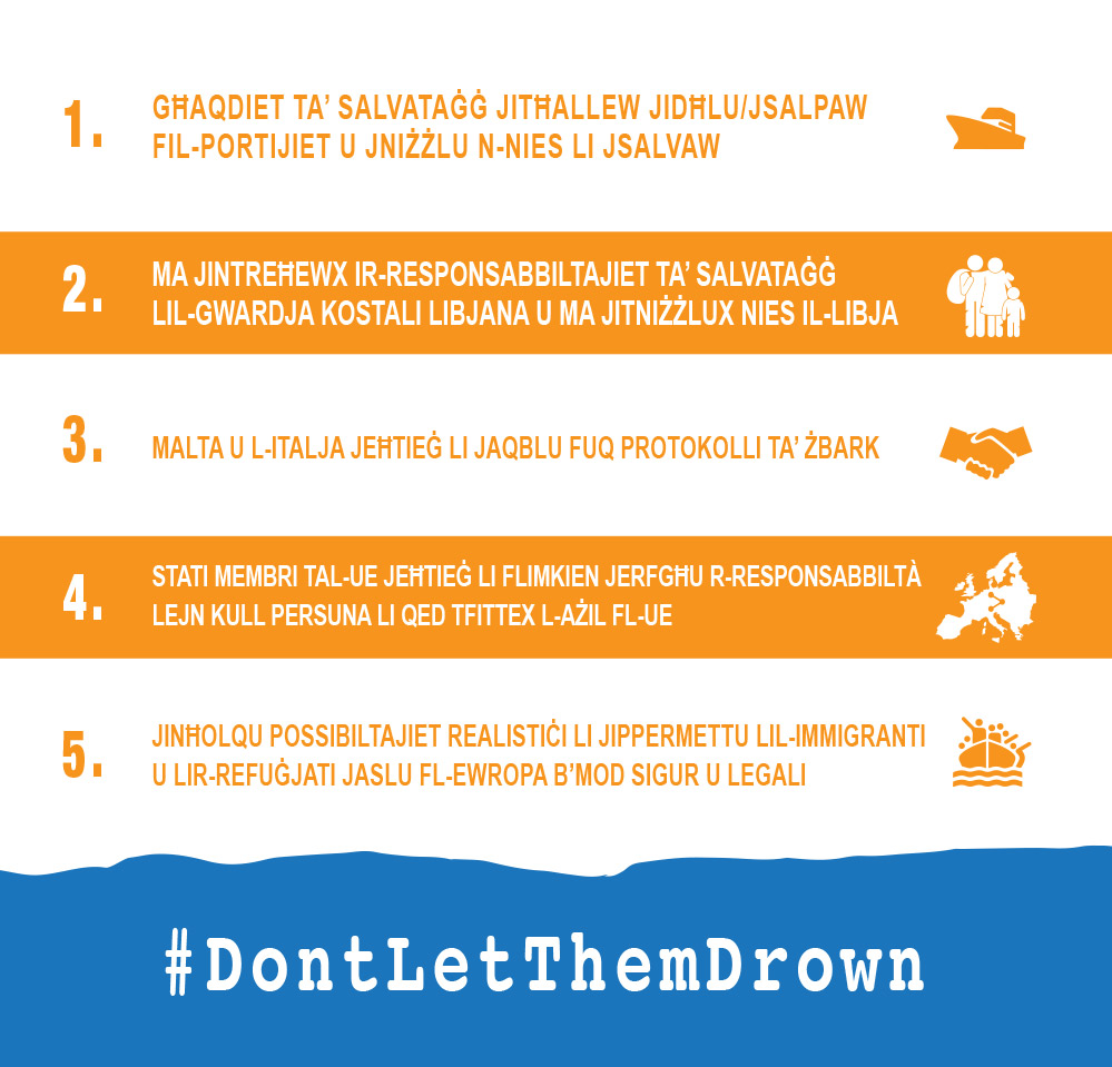 #DontLetThemDrown_MT